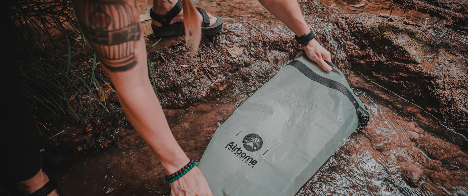 Airborne outfitters bitterroot dry bag