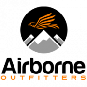 Airborne outfitters bitterroot logo