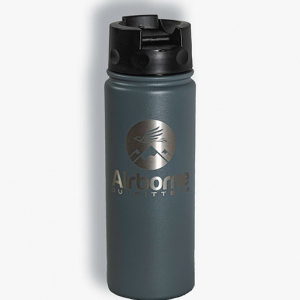 16oz bottle with wide mouth lid