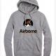 grey airborne hoodie