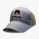 silver soft mesh trucker hat